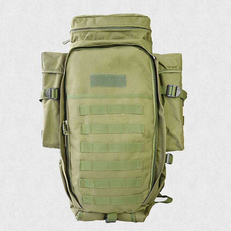 60L mochila táctica al aire libre ejército militar mochila para caza tiro de Camping senderismo viaje