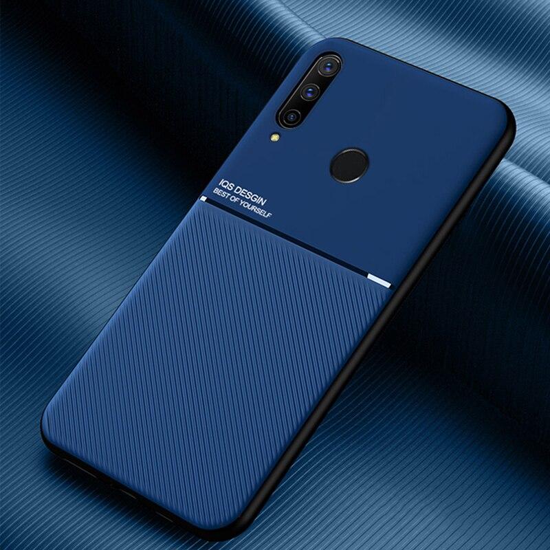MAKAVO para Huawei Honor 9X funda Global mate PU cubierta trasera suave marco Slicone funda de teléfono para Huawei Honor 9X Premium