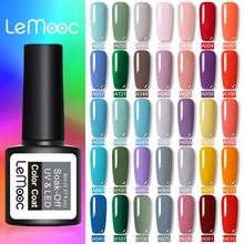 Lemooc Gel Vernis Hybrid Enamel Blue Kleur Uv Gel Nagellak Vernis Semi Permanente Prime Nail Art Acryl Off Rood roze