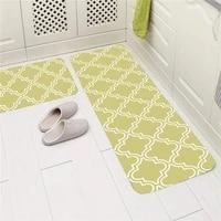 eovna entrance door mat washable non slip kitchen floor mat bedroom living room bedside area rugs waterproof modern carpet