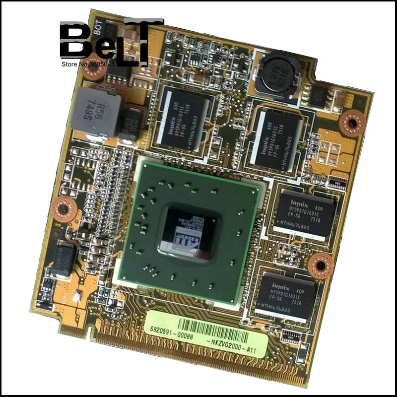 HD3650 HD 3650 pour ASUS F8S F8V N80V M50S X57S X71S M70S V1V ddr2 Carte VGA DDR2 1GB Carte Graphique Vidéo carte Mobility Radeon
