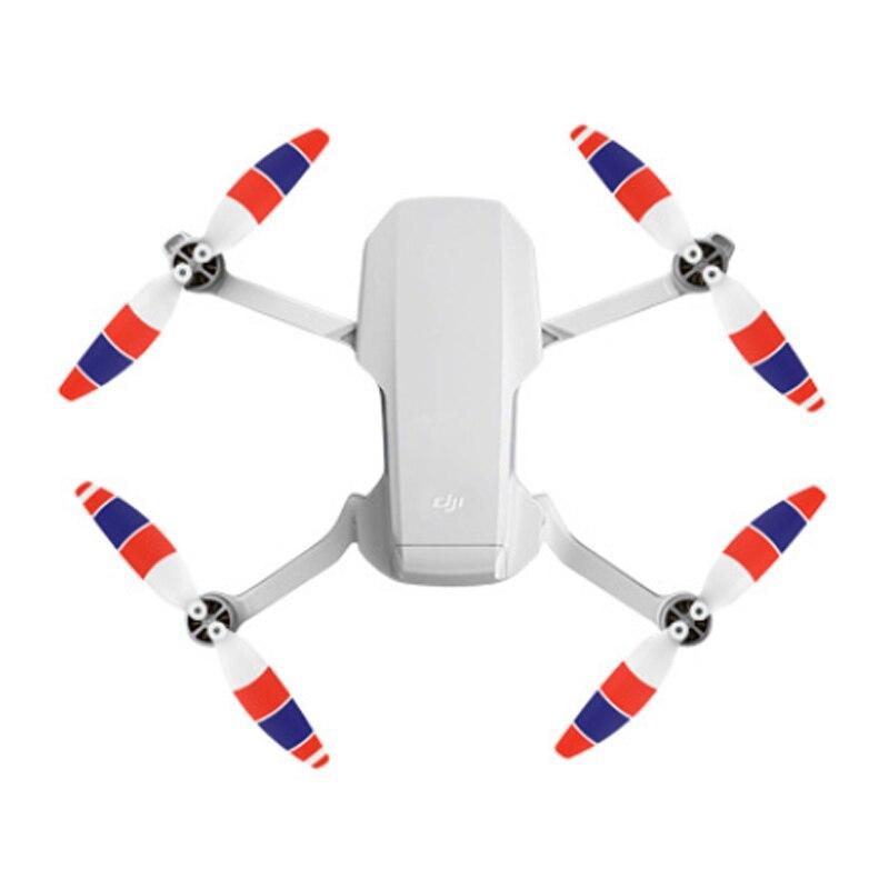 Adereços para Dji Peças de Reposição Pçs de Baixo Ruído Hélice Mavic Mini Colorido 4726f Vôo Acessórios Drone 8