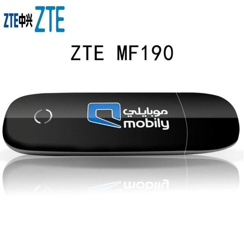 Unlocked ZTE MF190 Unlocked 3G modem 7.2Mbps USB Mobile Broadband Modem enlarge