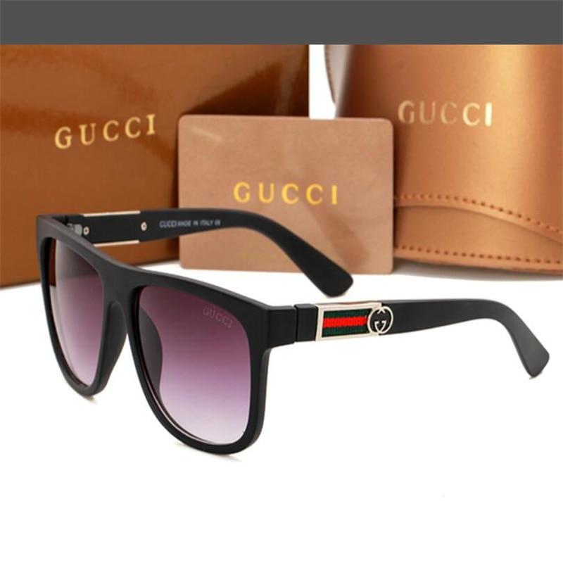 2021 Luxur Top Quality Classic Square Sunglasses Designer Brand fashion Mens Womens Sun Glasses Eyew