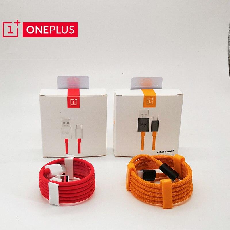 Cable Original oneplus 8 7t 7 pro 6T 6 5t 5 3t DASH/urdimbre carga 4A 6A Mclaren cable de carga para un plus cable adaptador 35cm