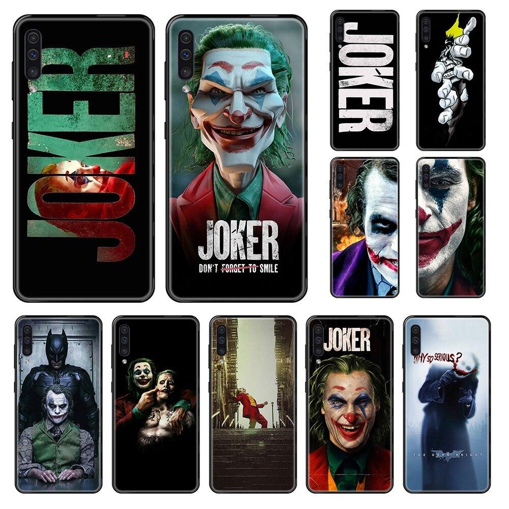 hot hero Joker Harley Bad Man Marvel black Phone case For Samsung Galaxy A 3 5 6 7 8 20 40 50 70 71 E S Plus 2016 2017 2018