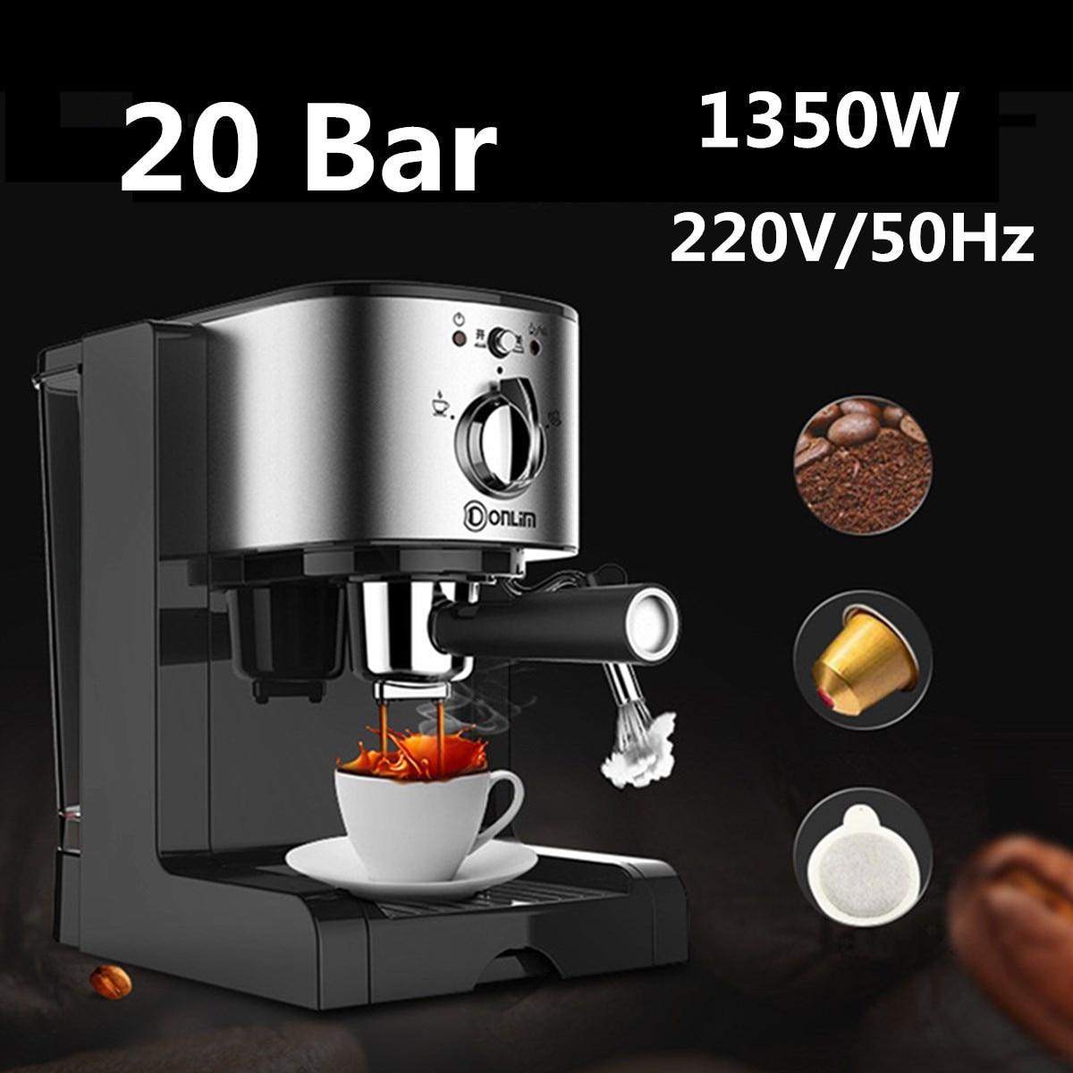 Cafetera semiautomático 3 en 1 para café, máquina de cocina de 1,5...
