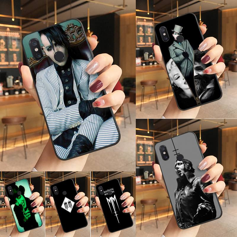 Yinuoda Мэрилин Мэнсон Мягкий Силиконовый ТПУ чехол для телефона чехол для Redmi K20 Note 5 7 7a 6 8 Pro note 8T 9 Xiaomi Mi 8 9 SE