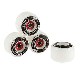 Puente 4 pçs rodas de skate durável rodas de skate do plutônio longboard cruiser rodas para ollie punk e jumping Skate    -