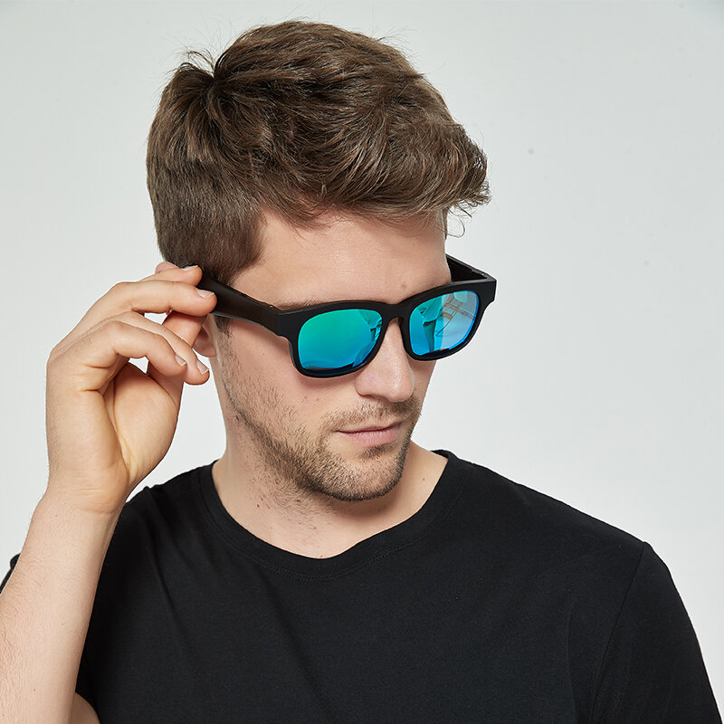 A14 Smart Glasses Call Music bluetooth V5.0 Glasses Fashion Effectively Isolate UV Sunglasses enlarge