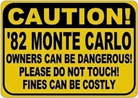 pub plaque art garden club home 12x8 1982 monte carlo can be dangeroussuitable for your bar cafe restaurant kitchen swimming po