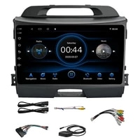 2din android 10 1 car radio multimedia player gps navigatio with dsp 2g16g for kia sportage 2007 2011