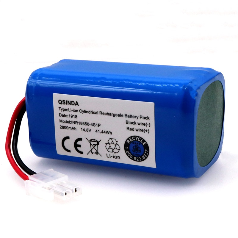 Review New Original High quality 14.8V 2800mAh Chuwi battery Rechargeable Battery for ILIFE ecovacs V7s A6 V7s pro Chuwi iLife battery