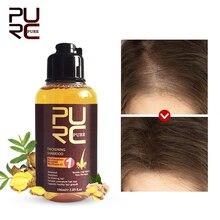 11.11 PURC 100ml épaississement shampooing gingembre soins des cheveux Essence traitement pour perte de cheveux/croissance des cheveux sérum lièvre soin produit