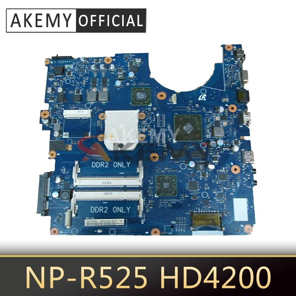 BA41-01359A لسامسونج R525 NP-R525 اللوحة المحمول HD4200 512MB DDR3 100% اختبار العمل شحن cpu BA92-06827A BA92-06827B