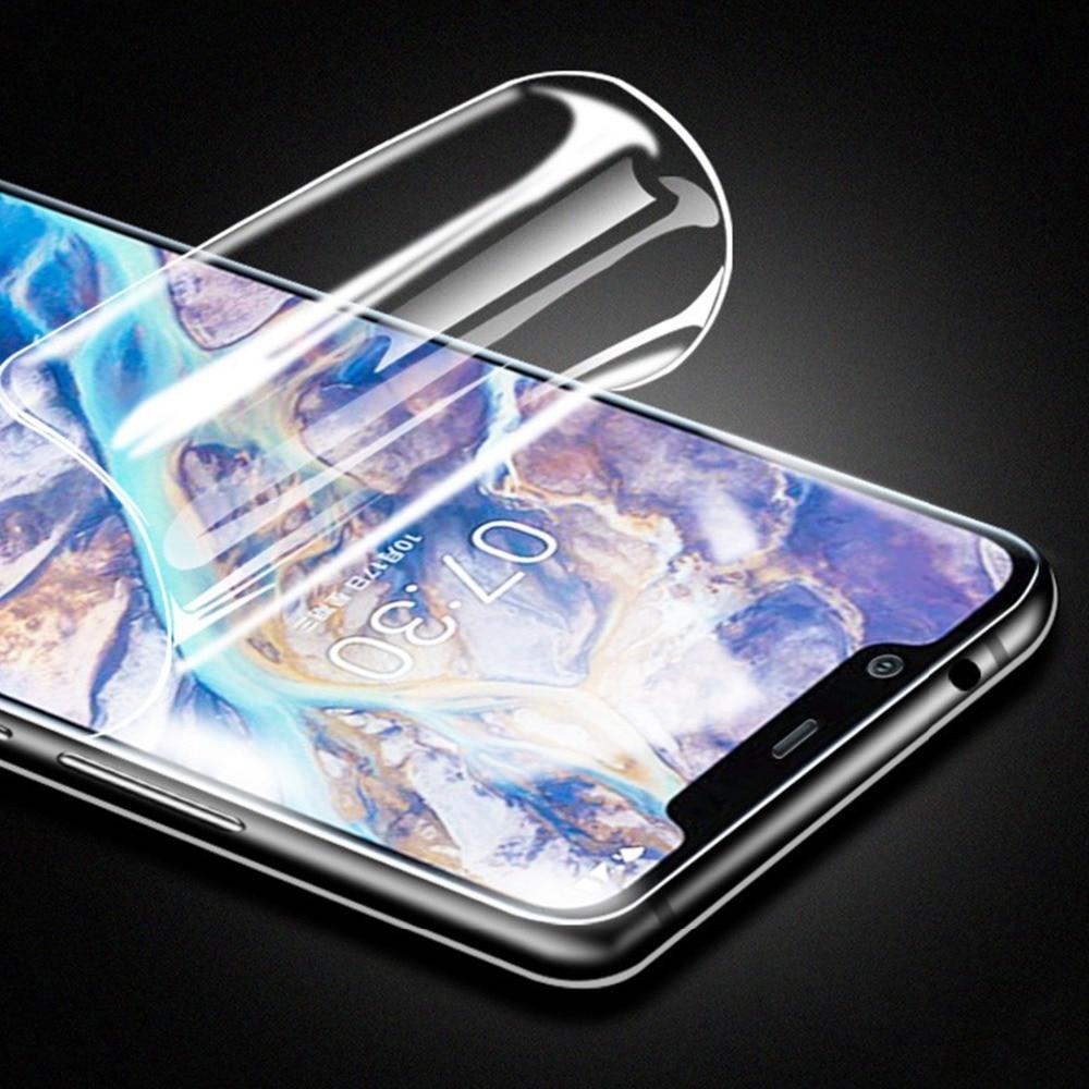 Película transparente de hidrogel 25D para Meizu C9/Note9/C9 Pro cubierta completa curvada Protector de pantalla suave no Vidrio Templado
