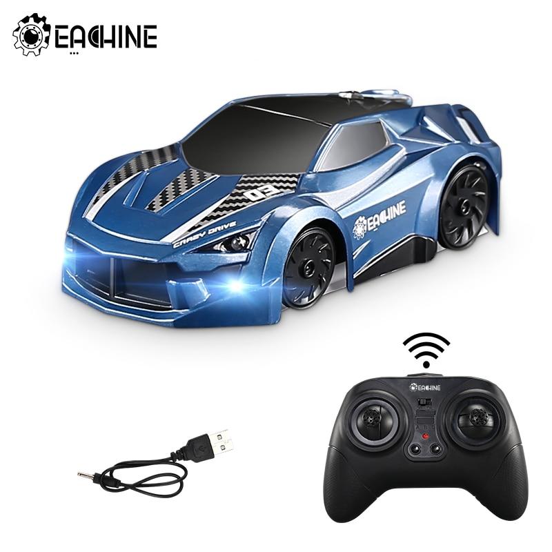 Eachine EC03 RC автомобиль трюк автомобиль 2,4G электрический гоночный скалолазание через стену автомобиль анти потолок вращающиеся игрушки Авто подарок для детей