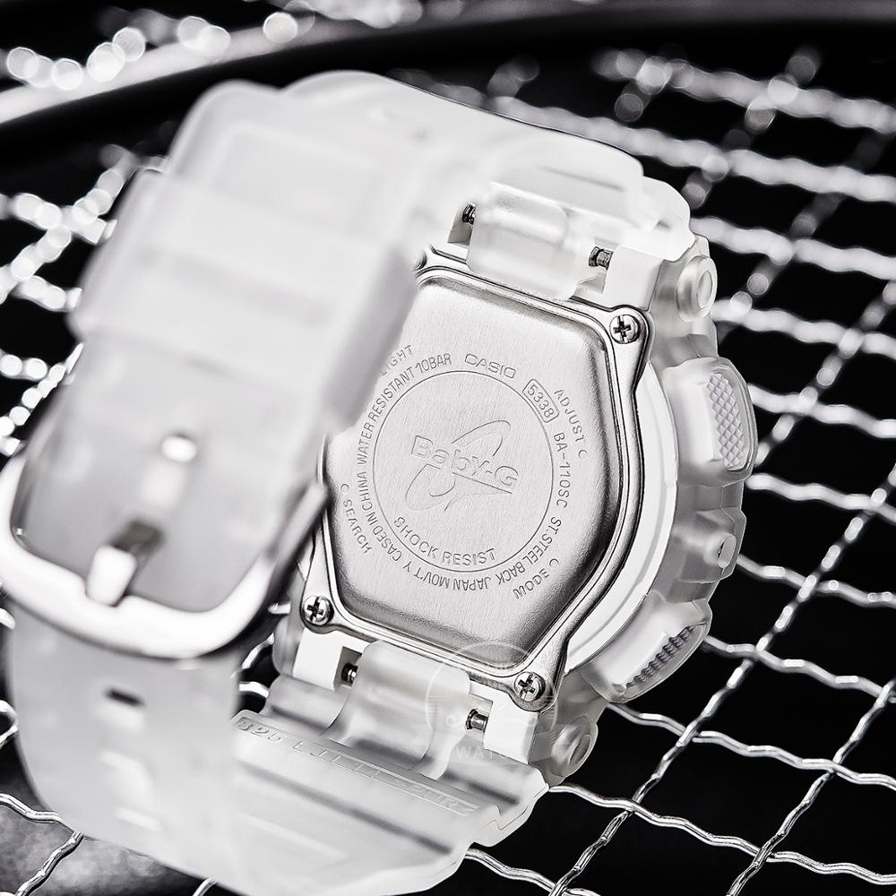 Casio watch Baby g women watches top brand luxury set Waterproof LED digital Transparent jelly translucent women watch reloj rel enlarge