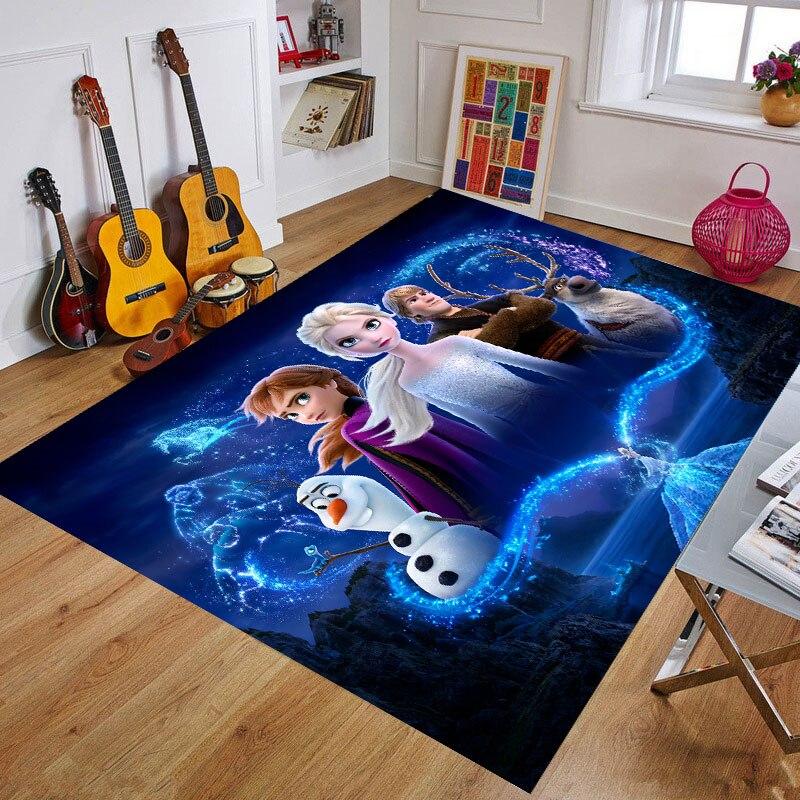 Cartoon Frozen Baby Play Mat Toys for Children's Mat Kids Rug Playmat Developing Mat Rubber Kids Rug Home Carpet  Birthday Gift