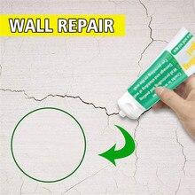 Crème de réparation murale   Résistant aux moisissures de 100ml Agent de réparation murale, fissure murale réparation dongles, patch restauration à séchage rapide