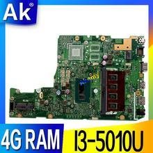 X302LA Für ASUS X302LJ X302L motherboard mit i3 4G RAM Integrierte grafikkarte DDR3 USB3.0 mainboard