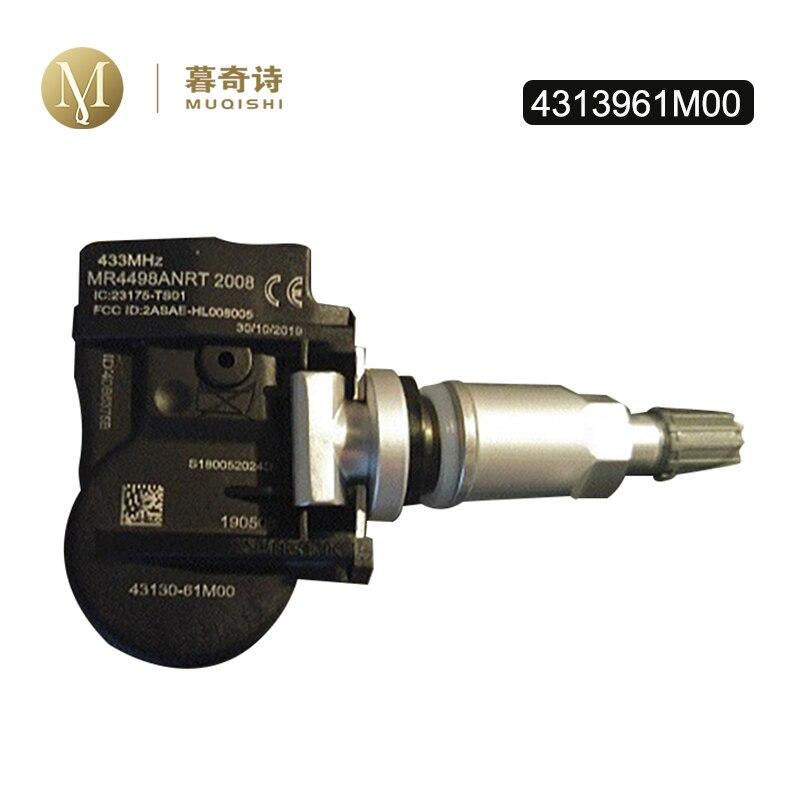 4 pces sensor de pressão dos pneus para vitara sx4 s-cruz ignis baleno swift jimmy celerio 43139-61m00 4313961m00 43130-61m00 4313061m00