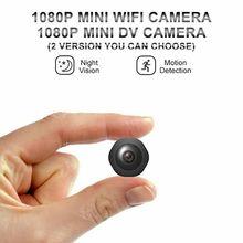 HD 1080P Mini Kamera Bewegung Erkennen Nachtsicht DV WiFi 2 Version Micro Cam Camara Espia Kleine Camcorder Unterstützung versteckte TF Karte