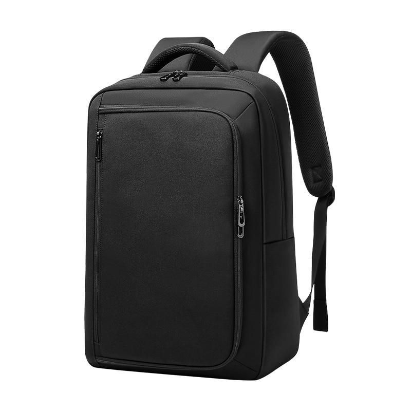 Мужской Дорожный рюкзак EURCOOL, Черный Многофункциональный рюкзак для ноутбука 15,6 дюйма с USB-зарядкой, Водонепроницаемый Школьный рюкзак для ...