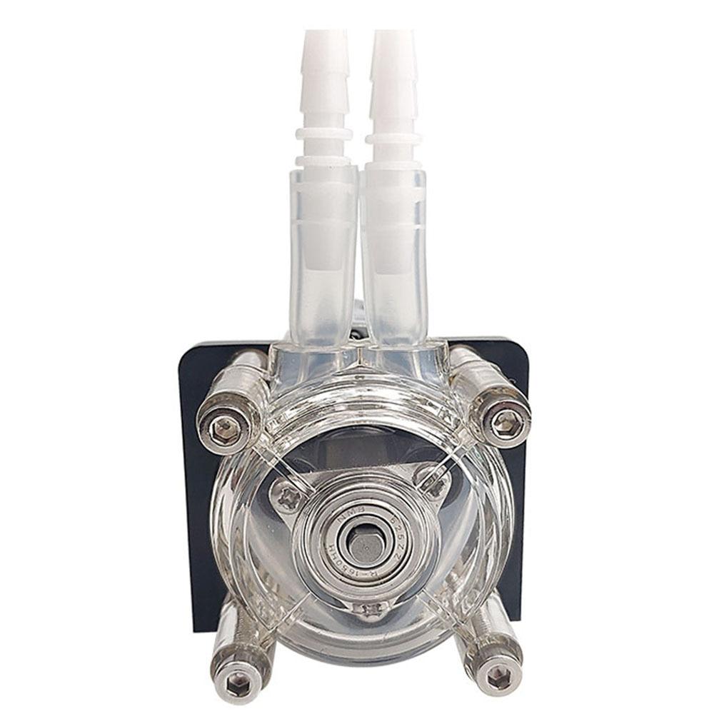 مضخة تمعجية DC 12V/24V تدفق كبير مضخة الجرعات ل فراغ حوض مختبر التحليلية 500 مللي/دقيقة