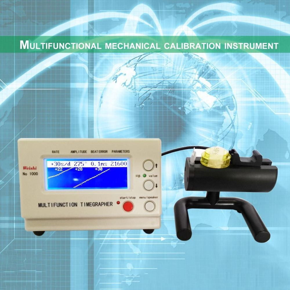 Mechanical Watch Tester Timing Timegrapher Watch Timing Machine Tester Calibration Repair Tools for Repairers and hobbyists enlarge