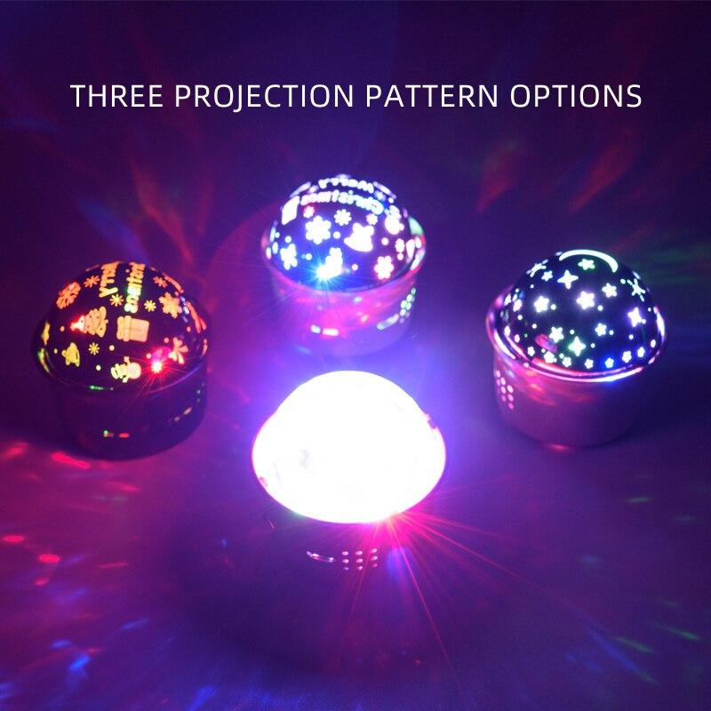 Новинка мини дискотека шар свет музыка звук вечеринка свет портативный USB заряжаемый автомобиль атмосфера ди-джей сцена свет