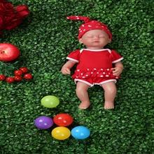 IVITA WG1509 38cm 1.8kg fille yeux fermés haute qualité corps complet Silicone Reborn poupées bébés nés vivants jouets avec des vêtements