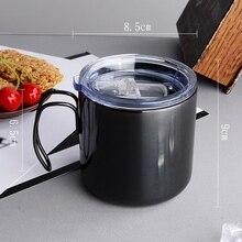 CSS Coffee Cup Double Titanium Anti-Scalding Mug Plating