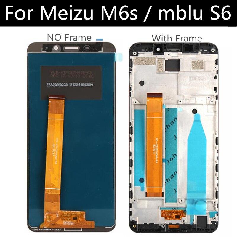 Para Meizu M6s mblu S M712H M712Q, pantalla LCD + MONTAJE DE digitalizador con pantalla táctil, accesorios de reemplazo