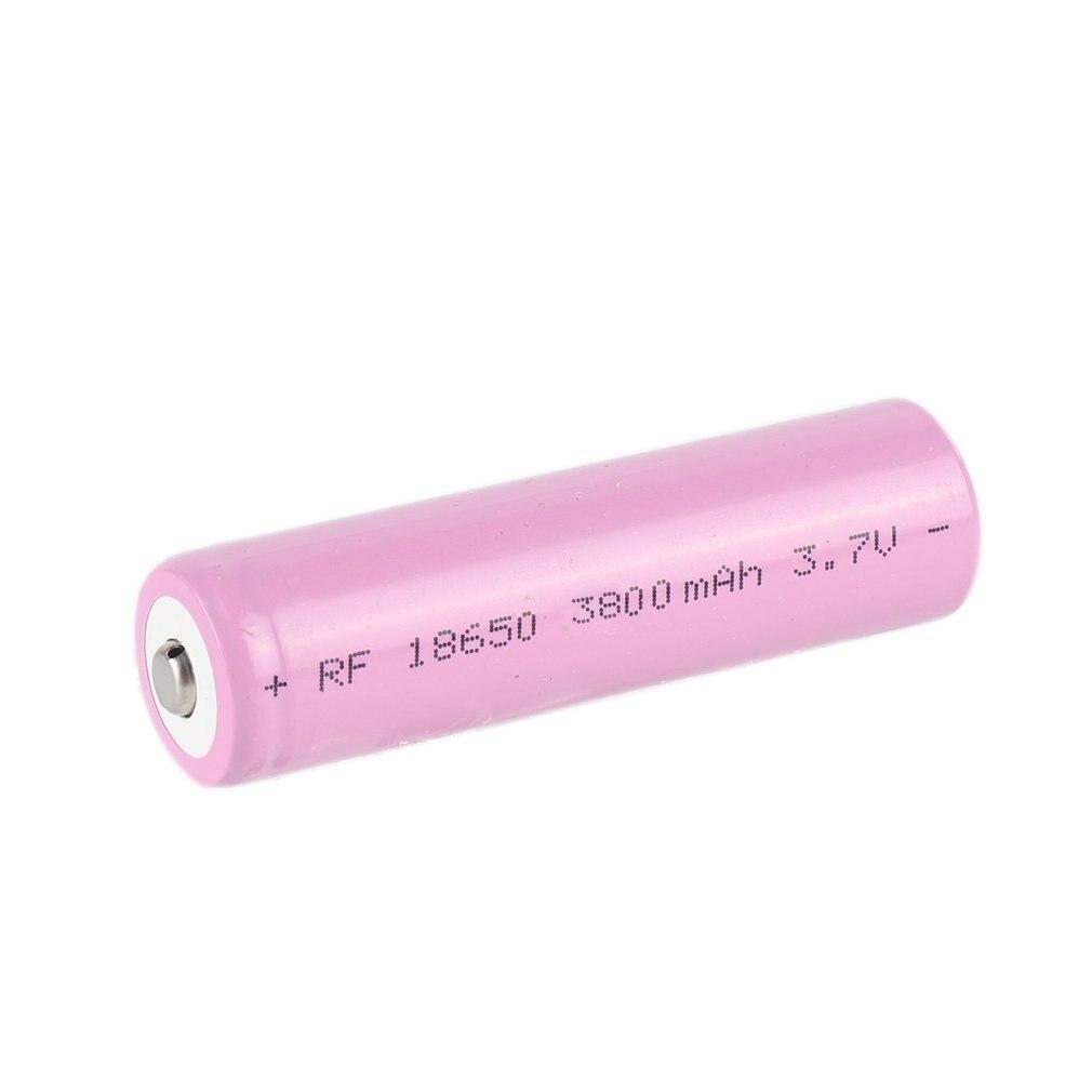 1 Uds 3,7 V 18650 batería de litio de gran capacidad de 2200mah batería recargable de iones de litio pila ICR para la linterna del faro