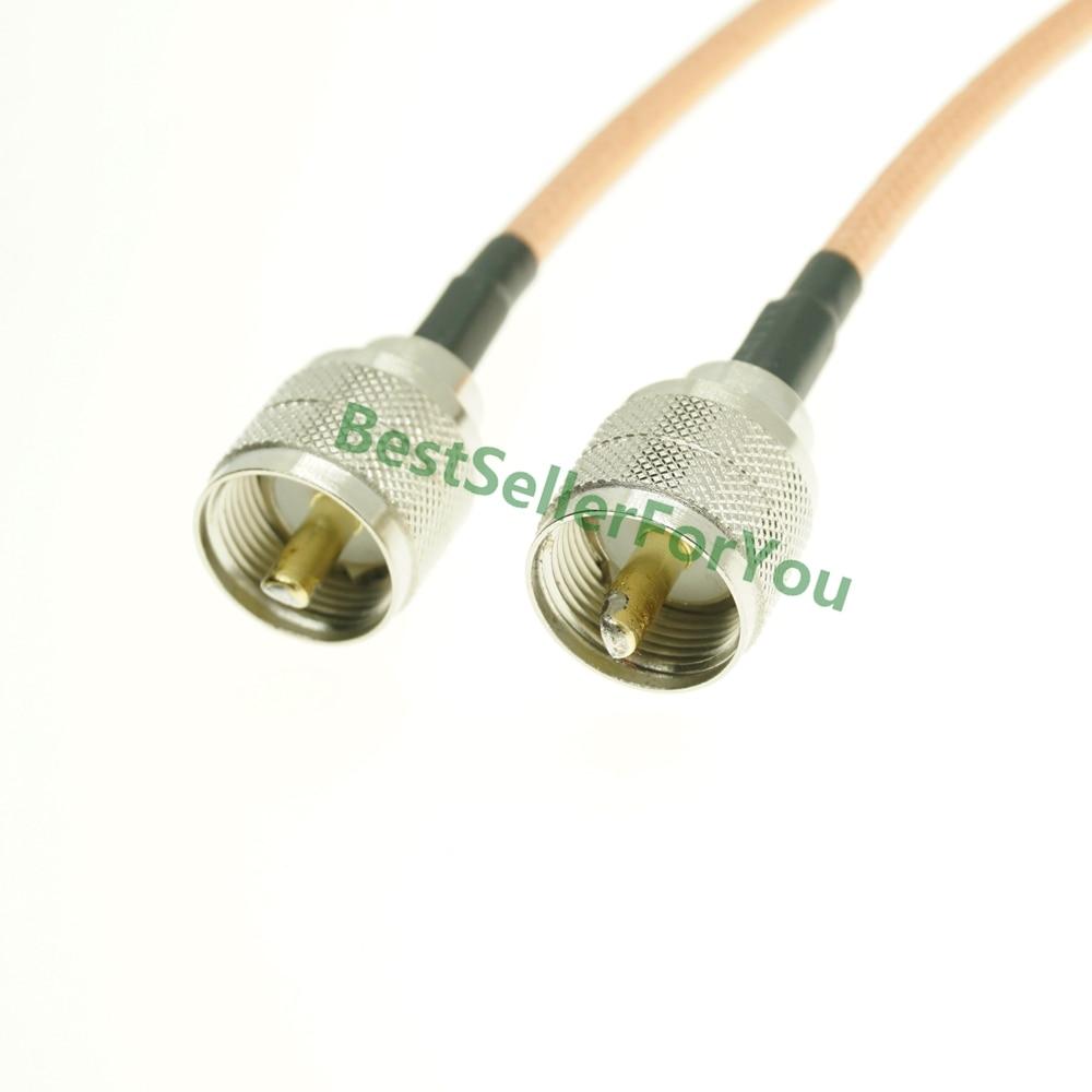 Cable RG142 PL259 UHF conector macho a UHF conector macho PL259 Cable...