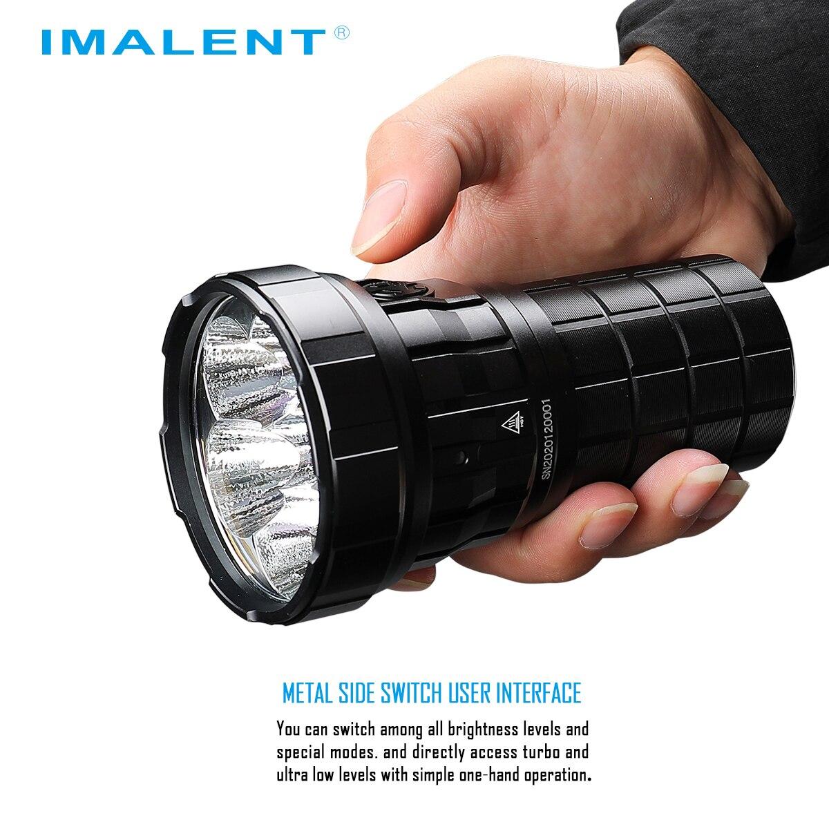 IMALENT R60C Flashlight Super Powerful Light Torch LED Lantern 18000LM 1038m 5 Level 21700-4000mAH IPX-8 Waterproof Rechargeable enlarge