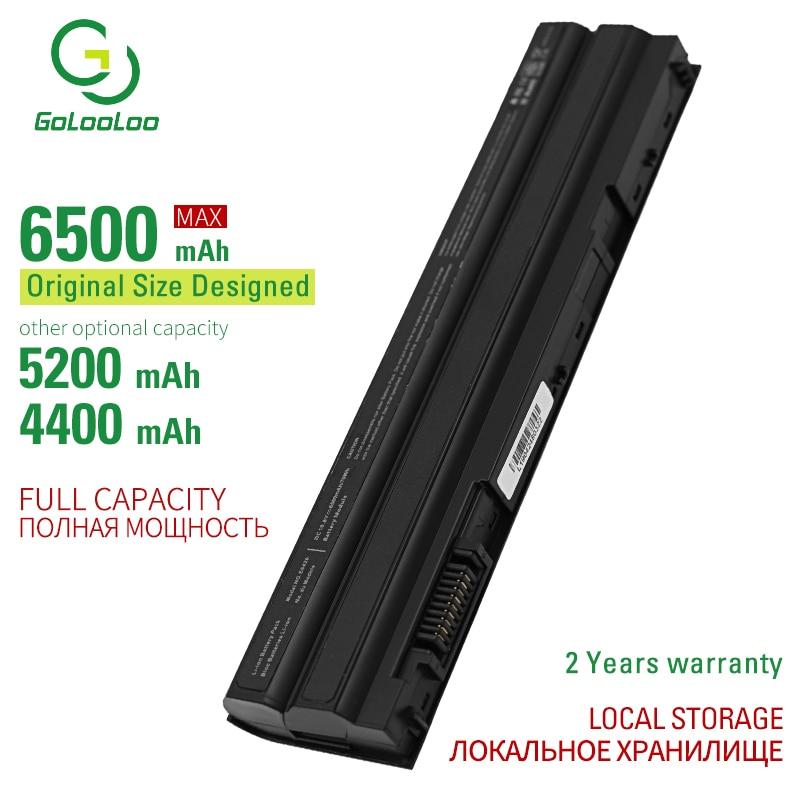 Golooloo 6500mAh New bateria do portátil para Dell 312-1163 312-1311 312-1324 451-11694 451-12048 8P3YX 911MD DHT0W HCJWT KJ321 M5Y0X