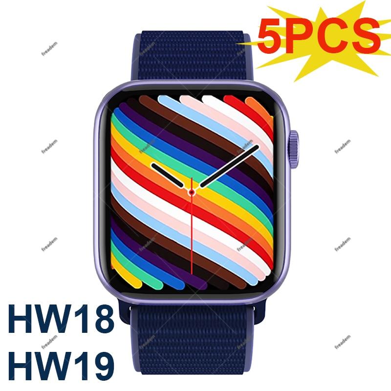 Promo 5PCS IWO Smart Watch HW18 HW19