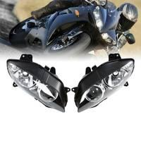 Motorcycle Headlight Headlamp Head Lights Assembly For Yamaha YZF R1 1000 2004-2006 2005