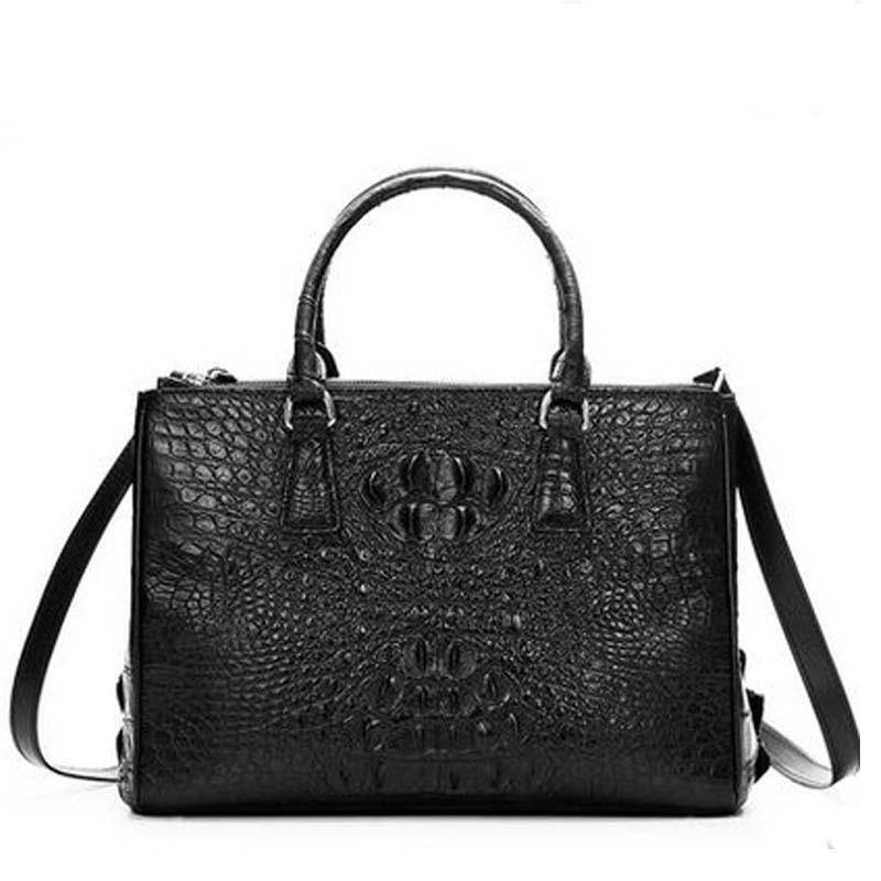 cestbeau  new arrival crocodile women bag men crocodile bag classic fashion natural crocodile women crocodile handbag