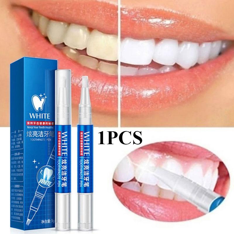 Фото - Ручка для отбеливания зубов, искусственная ручка, гелевая ручка для отбеливания зубов, свежие пятна от дыхания, ручка для чистки зубов ручка