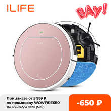 ILIFE V7S Robot Smart Vacuum Cleaner Wet and Dry Clean 500ML Super Water Tank HEPA Filter Ciff Sensor Auto Charge Home ASPIRADOR