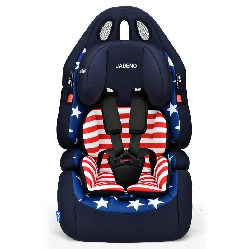 JADENO Baby Seat Sitting Chair Car Booster Seat Travel Portable Adjustable Child Car Safety Seat Facing for Kids