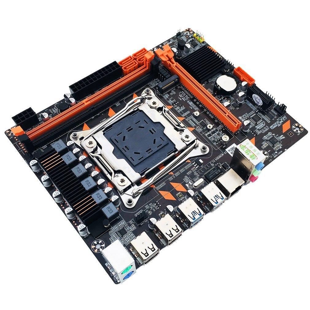 X99-Mini LGA2011-3 M-ATX Motherboard Core 5th 6th Xeon E5 E7 DDR4/DDR3 2666 2400 2133 MHz Memory SATA3 HDD M.2 NVME SSD RJ49 enlarge