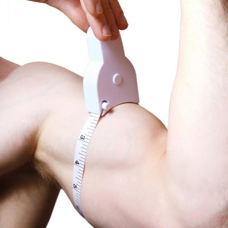 Fat Caliper Measuring Tape Portable Manual Battery Free Body Measurement Tool Household Health Monitors New Arrival