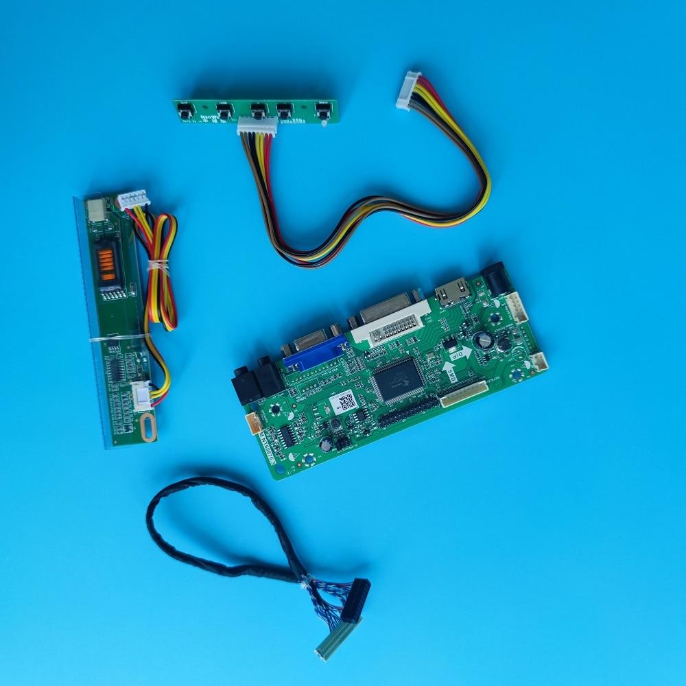 M.NT68676 VGA LCD DVI لوحة تحكم سائق عدة LVDS ل HSD150X14-A02/A03 1024*768 لوحة شاشة عرض 15