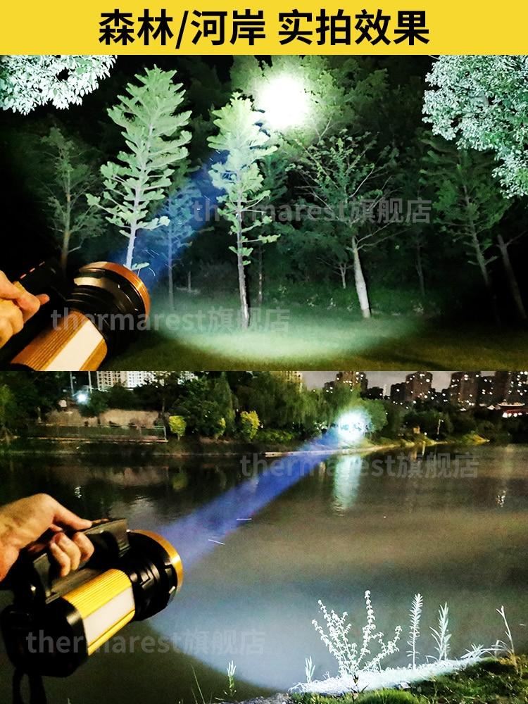 Camping Big Waterproof Powerful Flashlight Long Range Led Flashlight Rechargeable Linternas Portable Lighting BK50SD enlarge