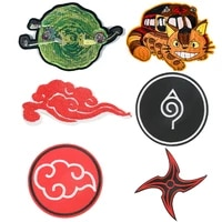 c443 cartoon sticker funny iron on patches anime embroidery patch for clothing accessory badge