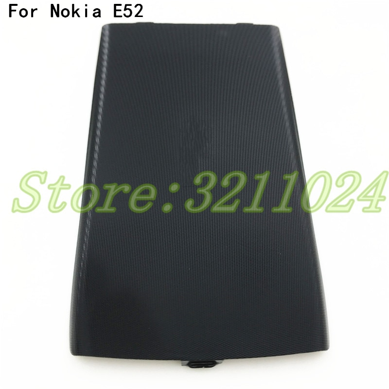 Черный чехол-накладка для Nokia E52, черный серый цвет, есть в наличии
